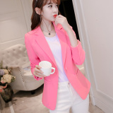 Caidaifei Korean Style Spring And Summer New Style Plus Sized Female Casual Clothes Pink Shop
