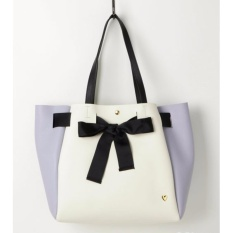 Sale Colors By Jennifer Sky Disney Limited Collections Tote Bag Alice In Wonderland White Lavender Color On Singapore