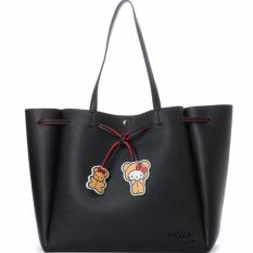 Colors By Jennifer Sky X Hello Kitty Tote Bag Limited Collection Black Color Lowest Price