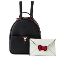 e4d75d576 COLORS by Jennifer Sky x Hello Kitty Collection mini size PU Backpack-Black  color
