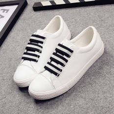 Best Reviews Of Comfortable Black Slip On Pull On Casual Ladies Shoes Gaiters Full White Full White