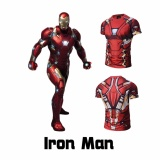 Compression Avengers Ironman Shirt Men S Short Sleeve Casual Bodybuilding T Shirt On Line