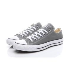 Coupon Convers Sneaker Unisex Canvas Flat Shoes Gray
