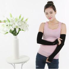 Cooler Fibers Anti Uv Arm Sleeveshand Socks Let S Slimblack Intl For Sale Online