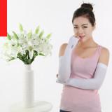Buy Cooler Fibers Anti Uv Arm Sleeveshand Socks Let S Slimwhite Intl Foci Cozi