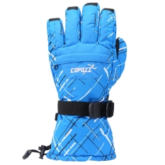 Copozz Unisex Super Warm Protection Water Resistant Ski Glove For Outdoor Activity Size Xl Blue Intl Compare Prices