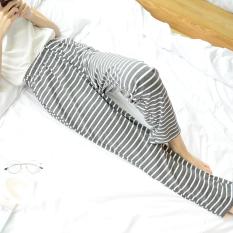 Loose And Plus Sized Confinement Pants Sleep Pants Dark Gray Promo Code