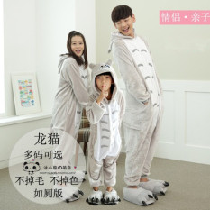 Couple S Anime Cartoon Related Pajamas Totoro With Shoes Deal