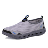 Price Comparisons For Couple S Damping Quick Drying Male Women S Shoes Upstream Shoes Light Gray