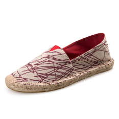 The Cheapest Couple Hand Espadrilles New Men Shoes Red Red Online