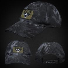 Great Deal Cqb Outdoor Men S Camouflage Tactical Duckbill Hat Cap Cqb Sword Halberd Black Python Cqb Sword Halberd Black Python