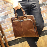 Discount Korean Style Horse Leather Men S Large Bag Men S Bag