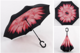 Double Layer Take Hands Free Reverse Umbrella Pink Version2 Pink Version2 Oem Discount