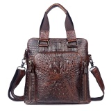 Crocodile Genuine Leather Vintage Men Business Handbags Messenger Bags Shoulder Bags Intl Shop