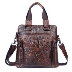 Crocodile Genuine Leather Vintage Men Business Handbags Messenger Bags Shoulder Bags Intl Sale