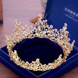 Sale Crown Korean Gold New Wedding Bridal Headpiece China