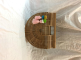Culthan Version Hot Selling Beach Bag Bamboo Bag No Logo Large Spot Goods Coupon