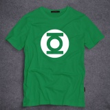 Retail Custom Design Green Lantern 100 Cotton Superheroes Short Sleeves T Shirt In Men Green Intl
