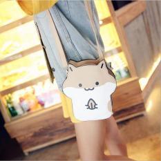 Price Cute Japanese L*l*t* Unique Handbag Hamster Animal Messenger Shoulder Bag Coffee Intl Oem