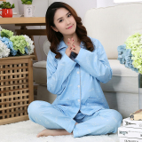 Price Compare Cute Woven Female Long Sleeved Cotton Tracksuit Cotton Pajamas Lucky Polar Bear