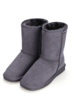 Sale At Breakdown Price Cyber Acevog Fashion Women Flat Casual Winter Warm Faux Fur Snow Ankle Boots Shoes Gray Coupon