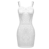 Sale Sale At Breakdown Price Cyber Meaneor Women Sleeveless S*xy Stretch Bodycon Sequin Party Evening Dress Meaneor On Singapore