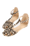 Compare Prices For Cyber New Restoring Women Ladies Sandals Leopard Print Flat Heel Women S Sandals Shoes