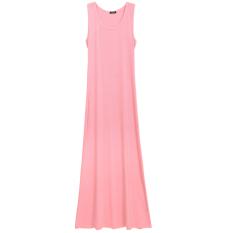 Discount Sale At Breakdown Price Cyber Women G*rl S Mini Sleeveless Button T Shirt Dress Long Maxi Dress Light Pink Oem Hong Kong Sar China