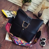 List Price D Ring Shoulder Bag With Additional Fancy Strap Black Bob Alice
