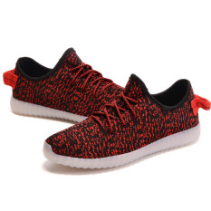 D83 Men S Women S Outdoor Sports Led Light Up Shoes Canvas Casual Sneakers Athletic Knit Red Shoe Price