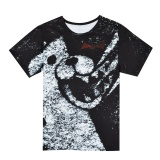 Who Sells Danganronpa Trigger Happy Havoc Monokuma T Shirt Cosplay T Shirt Cute Bear Pattern Tees Intl The Cheapest