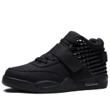 Best Deal Danji Men Casual Shoes High Cut Sneakers 39 46 Black Intl