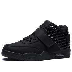 Danji Men Casual Shoes High Cut Sneakers 39 46 Black Intl On China