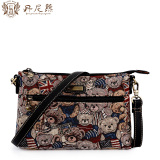 Danny Bear Dbwb165050 British New Flag Bear Cloth Bag Shoulder Small Bag Best Price
