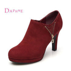 Daphne Crystal Waterproof Platform Deep Mouth Singles Shoes Review
