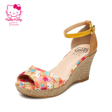 Daphne Female High Open Toed Printed Shoes Sandals Price Comparison