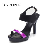 Price Compare Daphne S*xy New Chao Gao Gen Platform Sandals