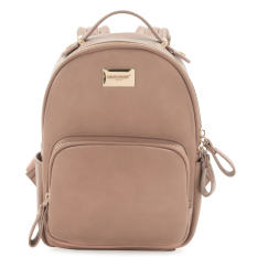 Sales Price Davidjones Genuine Leather Small Mini Backpack