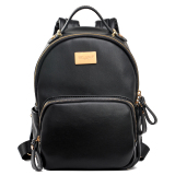 Review Davidjones Genuine Leather Small Mini Backpack China