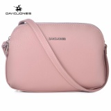 Retail Davidjones Multi Pocket Purse Bag Women Small Pu Messenger Bags Female Shoulder Bags Mini Clutch Purse Bag Pink Intl