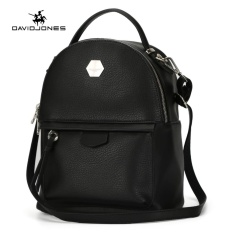 Davidjones Women Pu Backpack Female Shoulder Bags Black Intl On China
