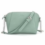 Best Offer Davidjones Women Pu Crossbody Shoulder Bag Green Intl