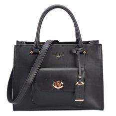 Davidjones Womentote Shoulder Bag Top Handle Bag (Black) Intl On China