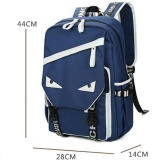 List Price Detachable Charger Usb Line Unisex Canvas Waterproof Travel Sch**l Computer Bag Backpack Color First Pic Size 44X14X28Cm Intl Kisnow