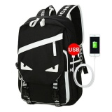 The Cheapest Detachable Charger Usb Line Unisex Canvas Waterproof Travel Sch**l Computer Bag Backpack Color First Pic Size 44X14X28Cm Intl Online