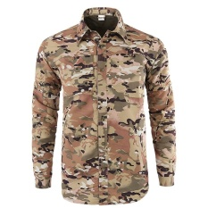Price Detachable Sleeve Summer Men Outdoor Tactical Military Quick Dry T Shirts Camouflage Men Jungle Windproof Coat Tee Camo Oem Original
