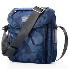 Buy Sports Canvas Bag Men Shoulder Bag Casual Bag Camouflage Light Blue Oem Cheap