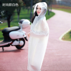 Compare Prices For Fishing Outdoor Eva Walking Travel Poncho *d*lt Raincoat Shishang Models White Shishang Models White