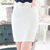 Female Dolphin Heart Spring Ol Suit Skirt Package Hip Skirt White White Reviews