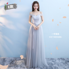 Buy Korean Style Summer New Style Slimming Evening Gown Bridesmaid Dress